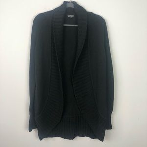 Express | Chunky Black Cardigan